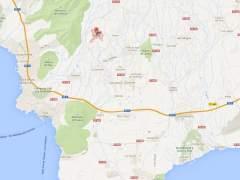 Imagen de Arona, Tenerife, en Google Maps.
