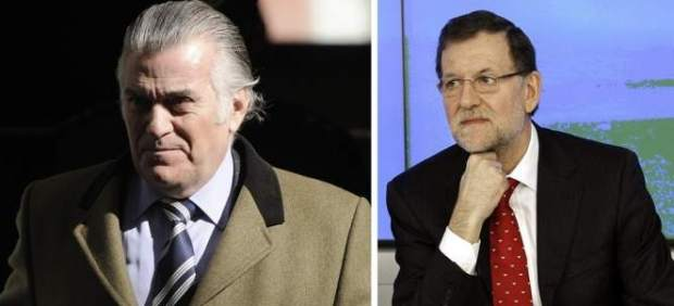 Bárcenas y Rajoy