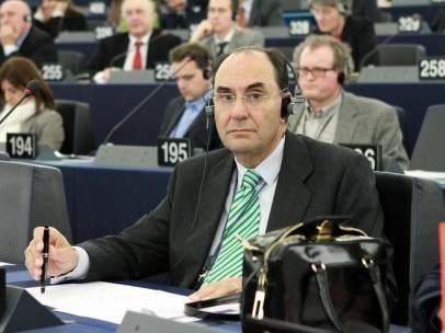 Vidal-Quadras, en el parlamento europeo.