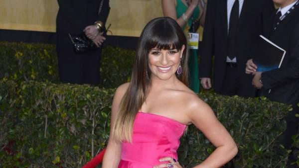 La actriz Lea Michelle, en los premios del Sindicato de Actores de 2013.
