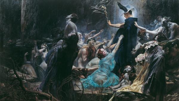 'Die Seelen am Acheron', 1889