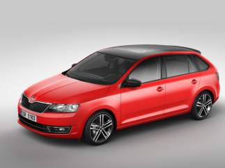 Skoda Rapid Spaceback 2013