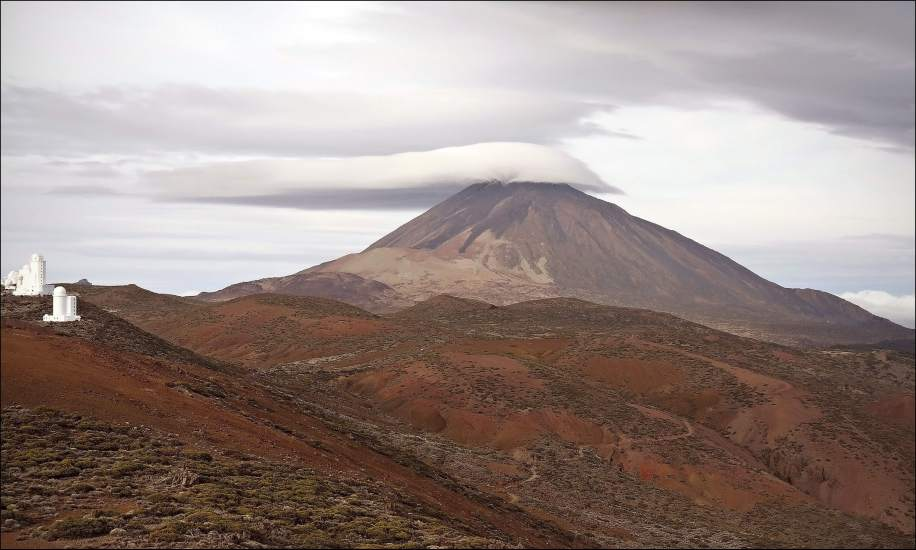 """El Teide y su """"sombrero"""""""