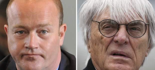 Gerhard Gribkowsky y Bernie Ecclestone