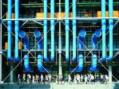 Centro Pompidou, Paris, 1971-77