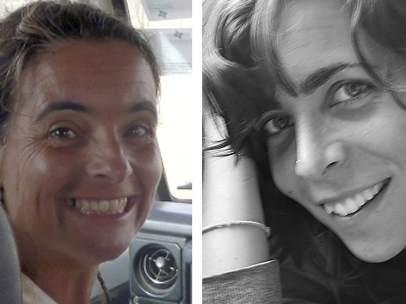 Blanca Thiebaut y Montserrat Serra
