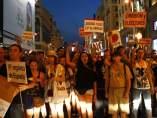 Manifestación en Madrid contra la corrupción el 18J