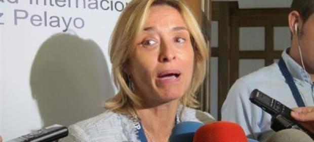 La investigadora María Ángeles Muñoz