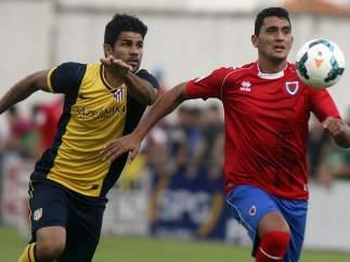Amistoso de pretemporada entre Numancia y Atlético