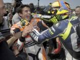 Rossi reconoce el mérito del piloto español