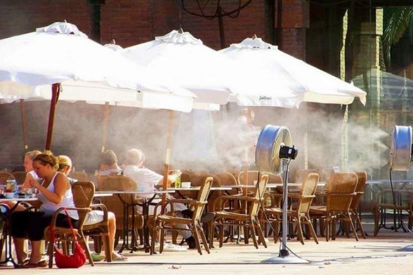 Los sistemas de nebulizaci n de las terrazas pueden ser - Sistema de nebulizacion ...