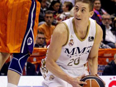 Jaycee Carroll, jugador del Real Madrid de baloncesto