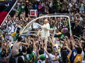El papa, en Río