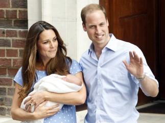 Presentación del hijo de los duques de Cambridge