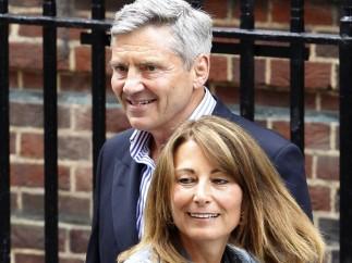 Los padres de la duquesa Catalina de Cambridge