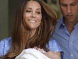 Los duques de Cambridge, felices por el nacimiento de su primer hijo