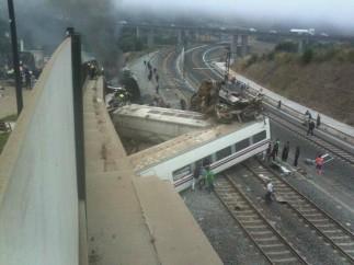 Trágico accidente de tren en Santiago
