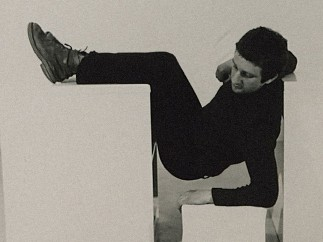 Detail from: Pose Work for Plinths I, 1971
