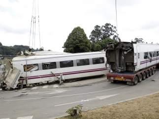 Traslado de los vagones