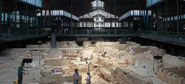 El Born de Barcelona se transforma en el mayor yacimiento urbano de Europa
