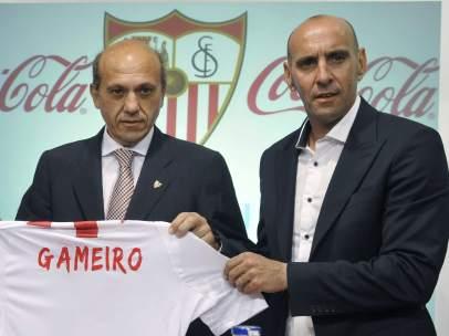 Kevin Gameiro, presentado por el Sevilla