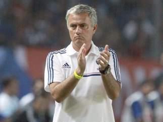 José Mourinho, durante la pretemporada asiática del Chelsea