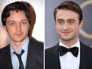 James McAvoy y Daniel Radcliffe