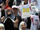 Manifestaciones pro Morsi en Egipto