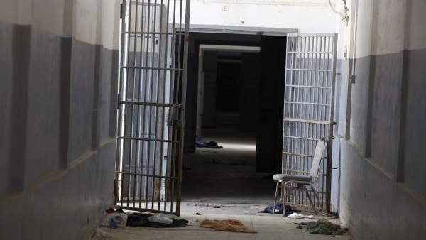 Cárcel libia