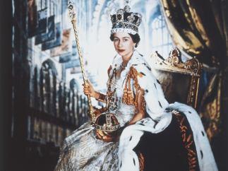 'Coronation portrait of HM Queen Elizabeth II', 1953