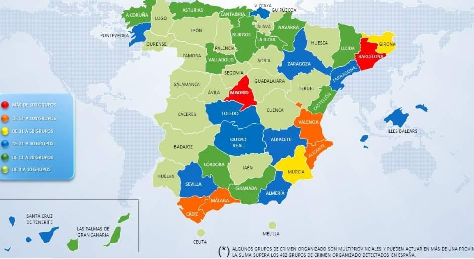 Interior decomisa millones de euros en bienes a 449 for Ministerio del interior espana