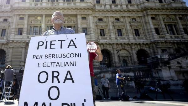 Juicio a Berlusconi