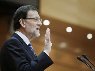 Rajoy comparece en el Congreso