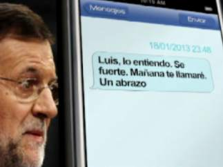 SMS Rajoy-Bárcenas