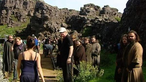 Filtran imágenes del rodaje en Islandia de la cuarta temporada de ...