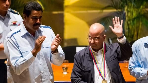 Nicolás Maduro y Eduardo Lalo.