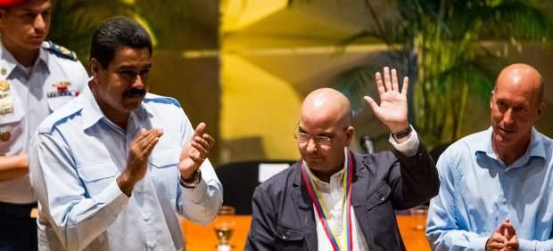 Nicol�s Maduro y Eduardo Lalo.