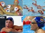 Chicas natación