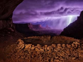 Thunderstorm at False Kiva