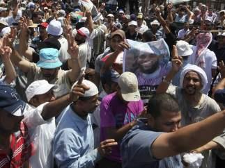 Protesta de los Hermanos Musulmanes