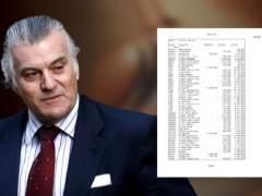 El PP reclama la fianza que puso en la causa de los 'papeles de Bárcenas'