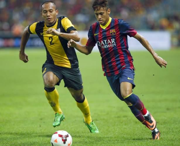 Gol de neymar en el ltimo partido de la gira asi tica del for Pisos asiaticas barcelona