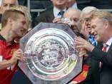 Manchester United, campeón de la Community Shield 2013
