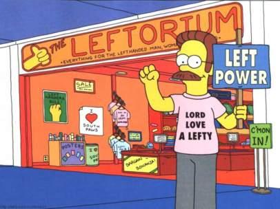 Leftorium de Ned Flanders
