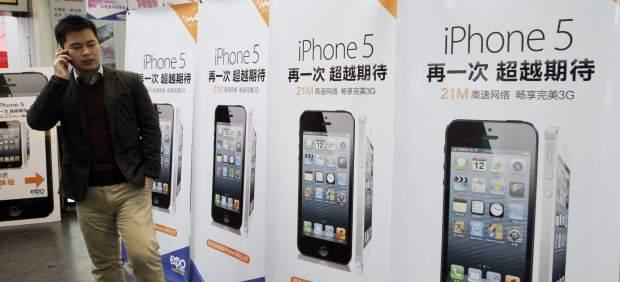 Un iPhone 5 explosiona e hiere en el ojo a una joven china