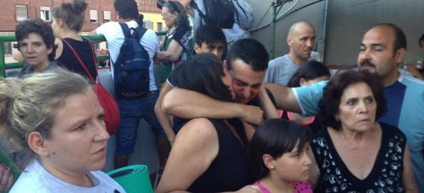 Desalojo en Ofelia Nieto