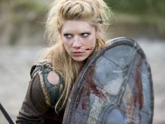 Katheryn Winnick en el papel de Lagertha en 'Vikingos'