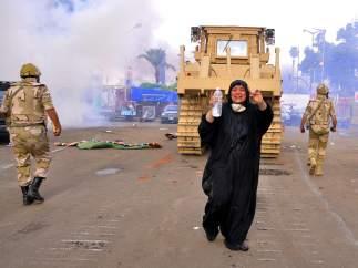 Destrucción de los campamentos de los seguidores de Morsi
