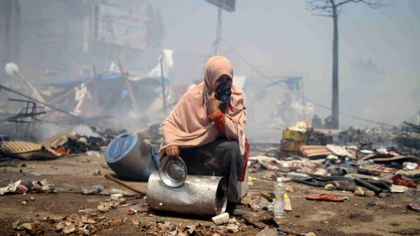 Choques en Egipto