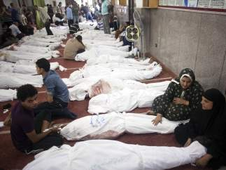 Cientos de muertos y miles de heridos en Egipto